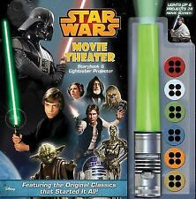 Star Wars Movie Theater Storybook & Lightsaber Projector, Harper, Benjamin