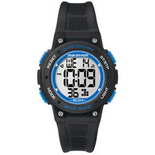Timex Unisex Marathon Watch - Black/Blue TW5K84800