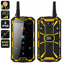 Conquest S8 Pro Rugged Smartphone - 5 Inch Screen, IP68, 4G, GPS, Compass, GPS