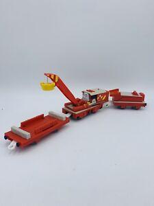 NONWORKING BROKEN Thomas & Friends Trackmaster Railway Rocky To The Rescue Crane