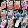 Glitter Bling Liquid Dynamic Clear Hard Case For iPhone 11 Pro 7 8 Plus X XS Max