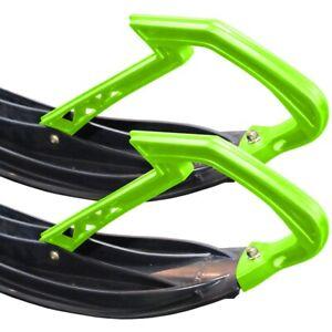 Arctic Cat Ski Handle Loop Kit Loops Medium Green 2005-2021 ZR F XF M - 7639-820