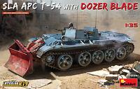 SLA APC T-54 W/ Dozer Blade Tanque Interior Kit 1 :3 5 Plástico Modelo Miniart