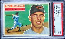 1956 Topps #80 Gus Triandos PSA 7 - GRAY - WELL CENTERED