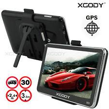 "XGODY 5"" 8GB GPS SAT NAV NAVIGATION SYSTEM NAVIGATOR Free Lifetime Maps Updates"