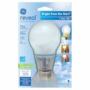 GE Lighting 63509 Reveal Bright from the Start CFL 20-Watt (75-watt
