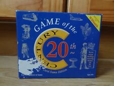 WH Smith / Games Talk GAME OF THE 20th CENTURY Trivia Card Game