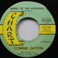 Country 45 Connie Eaton - Angel Of The Morning / One Time Too Many On Chart