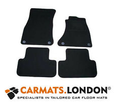 Audi A4 Avant B8 2008 - 2016 Tailored Car Floor Mats Complete Fitted Set Black