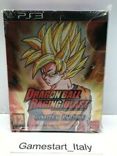 DRAGON BALL RAGING BLAST LIMITED EDITION - PS3 - PAL BRAND NEW SEALED VERY RARE