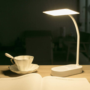 Cordless USB Rechargeable 2 Batteries Powered 3200MAH Desk Table Reading Lamp 40