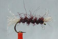1x Mouche Chiro Shipman Bordeaux H14/16 fliegen mosca claret fly