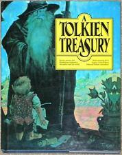 TOLKIEN TREASURY HC ~ ART Essays RECIPES Stories HAIKU! ~ ILLUSTRATED
