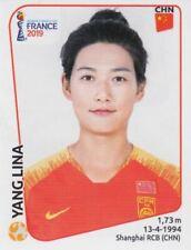 Panini Sticker Frauen Fußball WM 2019 Nr. 132 Yang Lina CHN China NEU Bild