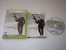 """JEU XBOX 360 """" 007 QUANTUM OF SOLACE """" PAL COMPLET EN BOITE"""