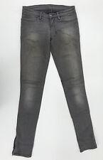 EUC RRP $289 Womens Stunning ksubi tsubi 'SUPER SKINNY ZIP' Jeans W24 L33