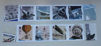 2016 ISLE OF MAN INNOVATION IN AEROSPACE SET OF 8 MINT STAMPS MNH