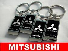 Keychain Keyring Key Ring Car MITSUBISHI ASX COLT OUTLANDER GALANT LANCER PAJERO