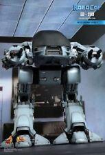 "1/6 12"" ED-209 ED209 MMS204 HOT TOYS ROBOCOP Figura Robot En Stock Muy Raro"