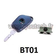 Lot de 2 Boutons miro switch pour télécommande clé plip Peugeot 406