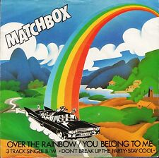 "MATCHBOX over the rainbow/you belong to me MAG 192 uk magnet 1980 7"" PS EX/VG+"