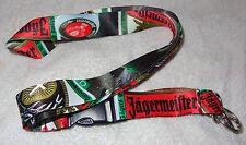 Jagermeister Lanyard-Keychain German Label...Cool...WOW