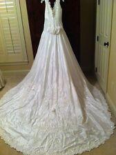 Lori Lee Antique White Wedding Dress Size 10 Never Worn