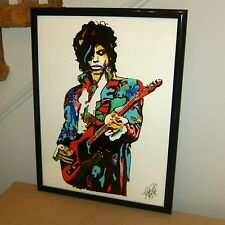 Prince The Revolution Purple Rain Guitar Rock Music Print Poster Wall Art 18x24