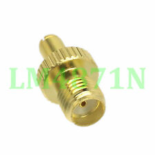 1pce Adapter TS9 male plug to SMA female jack RF connector straight gold plating