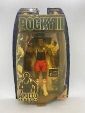 Jakks Rocky III Apollo Creed Series 2 Traing Gear RARE