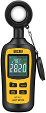 URCERI Light Meter Digital Illuminance Meter Handheld Ambient Temperature Measur