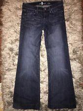 7 Seven For All Mankind DOJO dark wash jeans black studded size 26 denim jeans