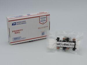 16450-RNA-A01 (SET OF 4) Fuel Injectors OEM HONDA CIVIC CR-Z FIT 1.5L 1.8L 06-14