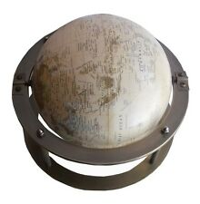 "8"" Globe With Antique Double Stand Replica"