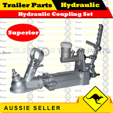 """Superior Hydraulic Override Coupling , 7/8"""" Master Cylinder and Bracket"""
