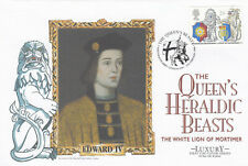 (51681) GB Luxury FDC Queens Beasts Westminster Abbey 1998
