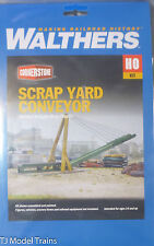 Walthers Cornerstone HO #933-3645 Scrap Yard Conveyor -  9-1/4 x 1-3/4 x 3-3/8""