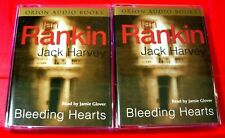 Ian Rankin/Jack Harvey Bleeding Hearts 4-Tape Audio Jamie Glover Crime Thriller