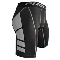SALE MEN PANTS GYM Compression Shorts Suck Moisture Wicking Stretch