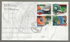 1996 Canada Technology FDC. First day Cover