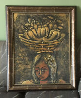 Rey Paulino Dominican Artist Original Paintings Oil on Canvas Stunning Signed