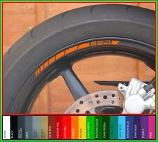 8 x KTM 690 Wheel Rim Stickers Decals - 20 Colors - Duke supermoto smc sm enduro