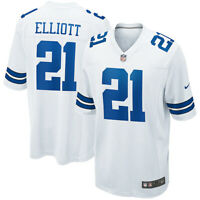 Brand New 2021 NFL Nike Dallas Cowboys Ezekiel Elliott Game Edition Jersey NWT