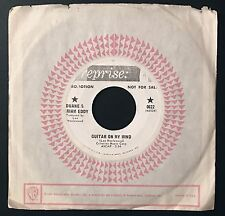 Duane Eddy & Miriam Eddy - Guitar On My Mind - Extremely Rare Promo 45 Single