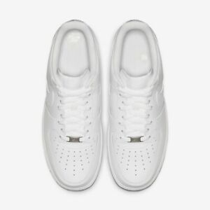 WOMEN'S Nike Air Force 1 Low White Casual Shoes (Size 7) 315115 112