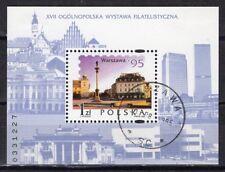 PL Polen 1995 Mi.-Nr. 3556 Block 127  17. Nat. BMA Warschau gestempelt o
