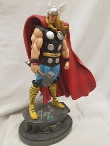 """BOWEN DESIGNS SIGNED By STAN LEE THOR Classic MUSEUM STATUE 15"""" AVENGERS Hulk ."""