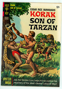 JERRY WEIST ESTATE: KORAK SON OF TARZAN #14 (VG+) & 15 (FN/VF) (Gold Key 1966)
