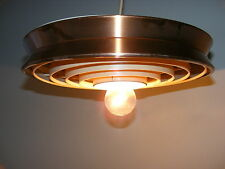 Antique Hanging Lamp, UFO Iconic Retro Design,Space Age, Kitchen DEFECTIVE