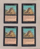 MTG - 4X Carrion X4 - Mirage - Rare NM/MT - Playset